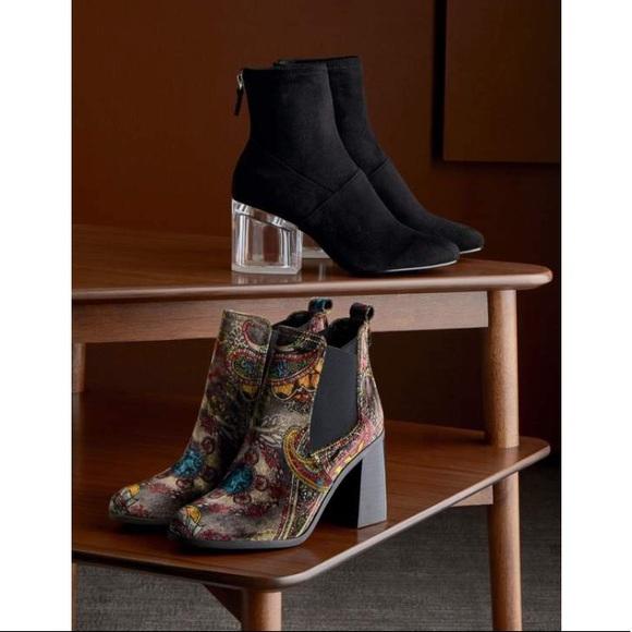 64e9444a59ac bp Shoes - BP Quinn Flared Heel Chelsea Bootie